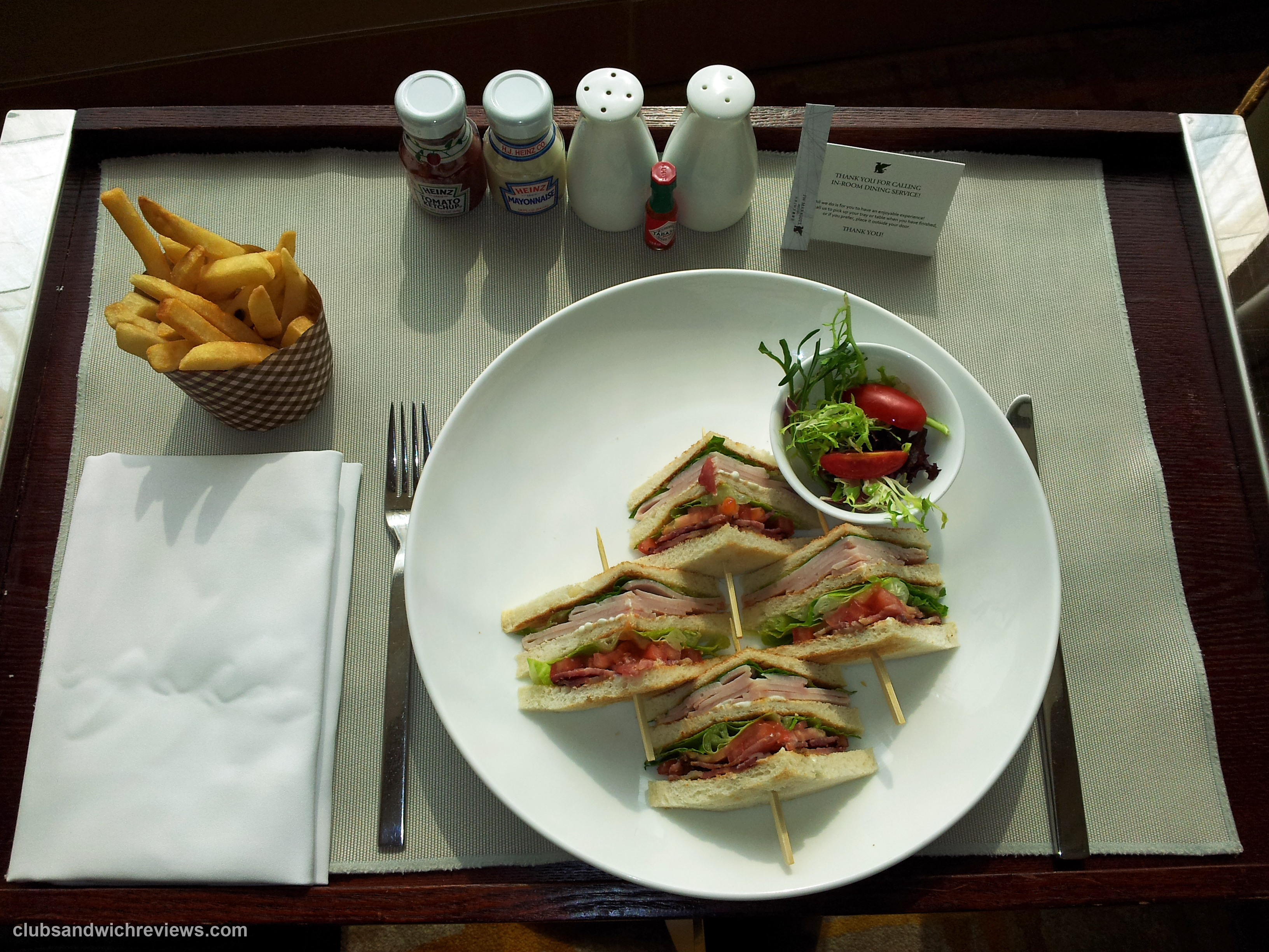 JW Marriott Club Sandwich, Beijing