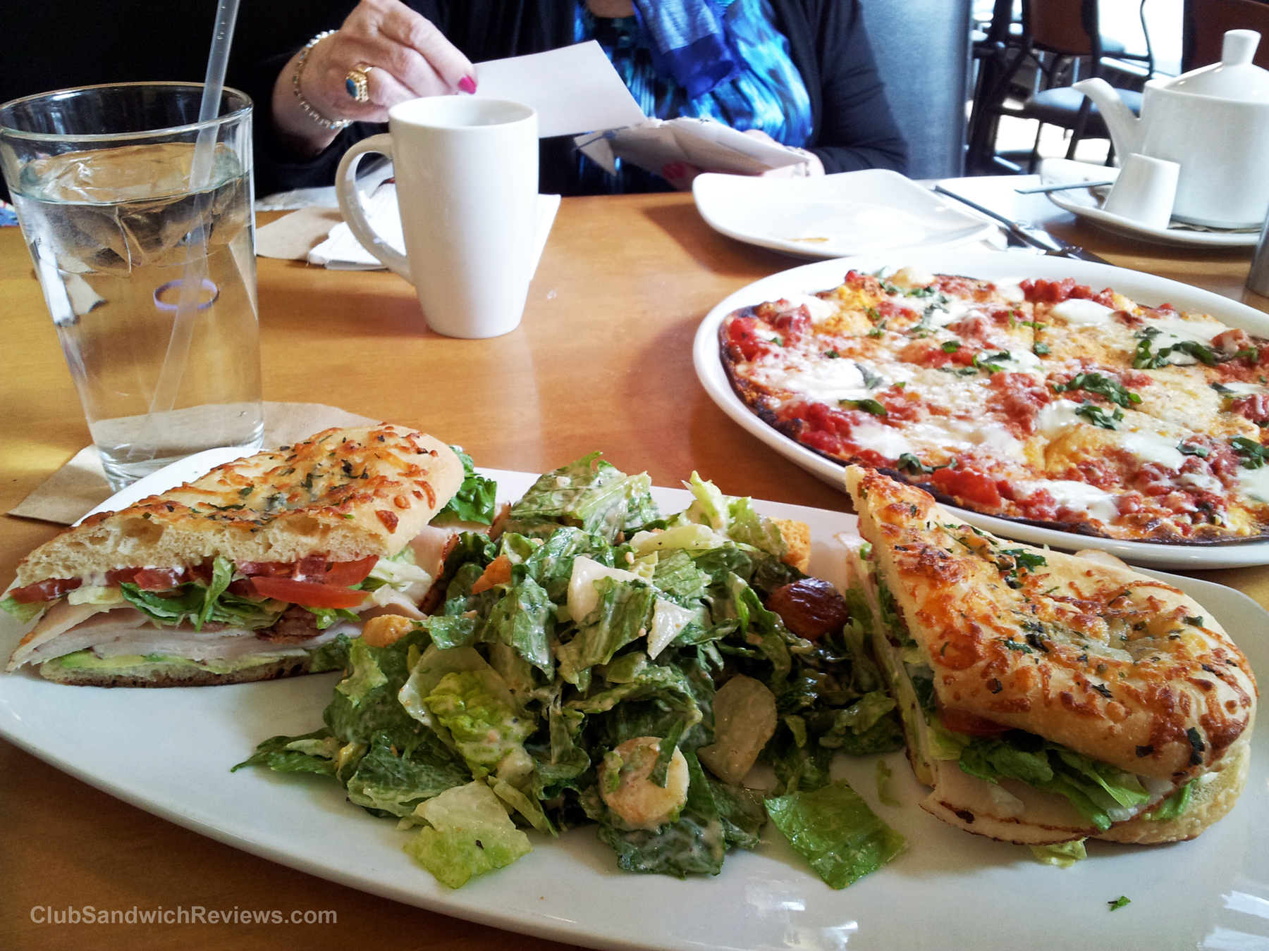 california pizza kitchen club sandwich reviewed in boston