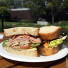 Norton Simon Museum Pasadena Club Sandwich